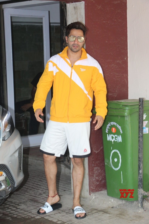 Mumbai: Varun Dhawan seen outside a gym #Gallery