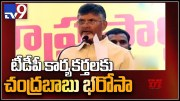 Chandrababu reacts over attacks on TDP activists - TV9 (Video)