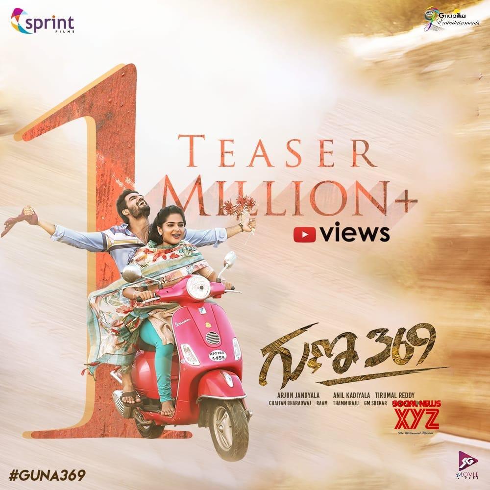 Karthikeya's Guna 369 Movie Teaser Hits 1 Million Plus Views