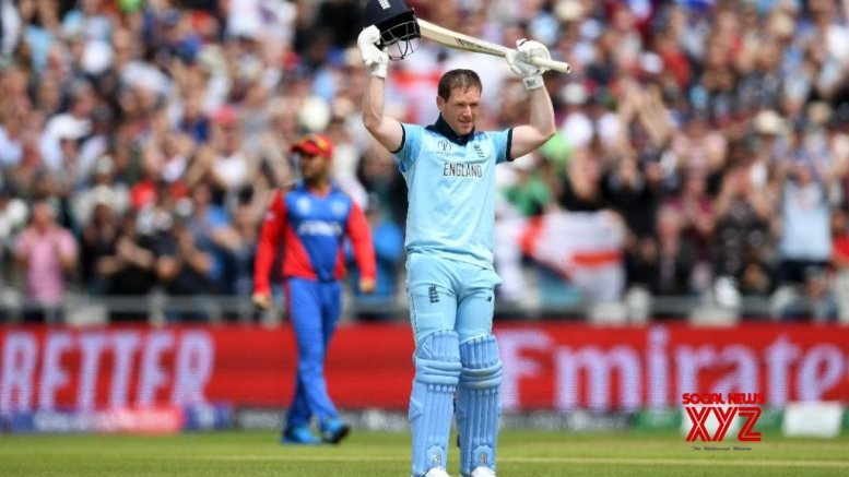 Captain Morgan leads carnage as England post record 397/6