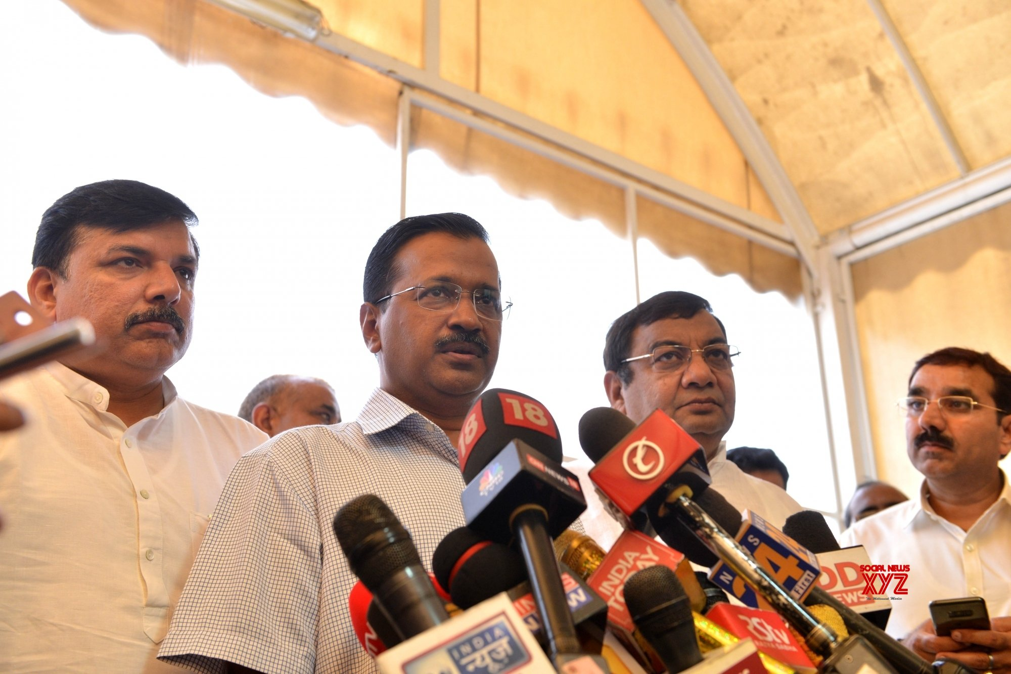 Our governments must work together, Kejriwal tells Modi