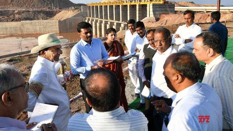 KCR launches world's largest lift irrigation project
