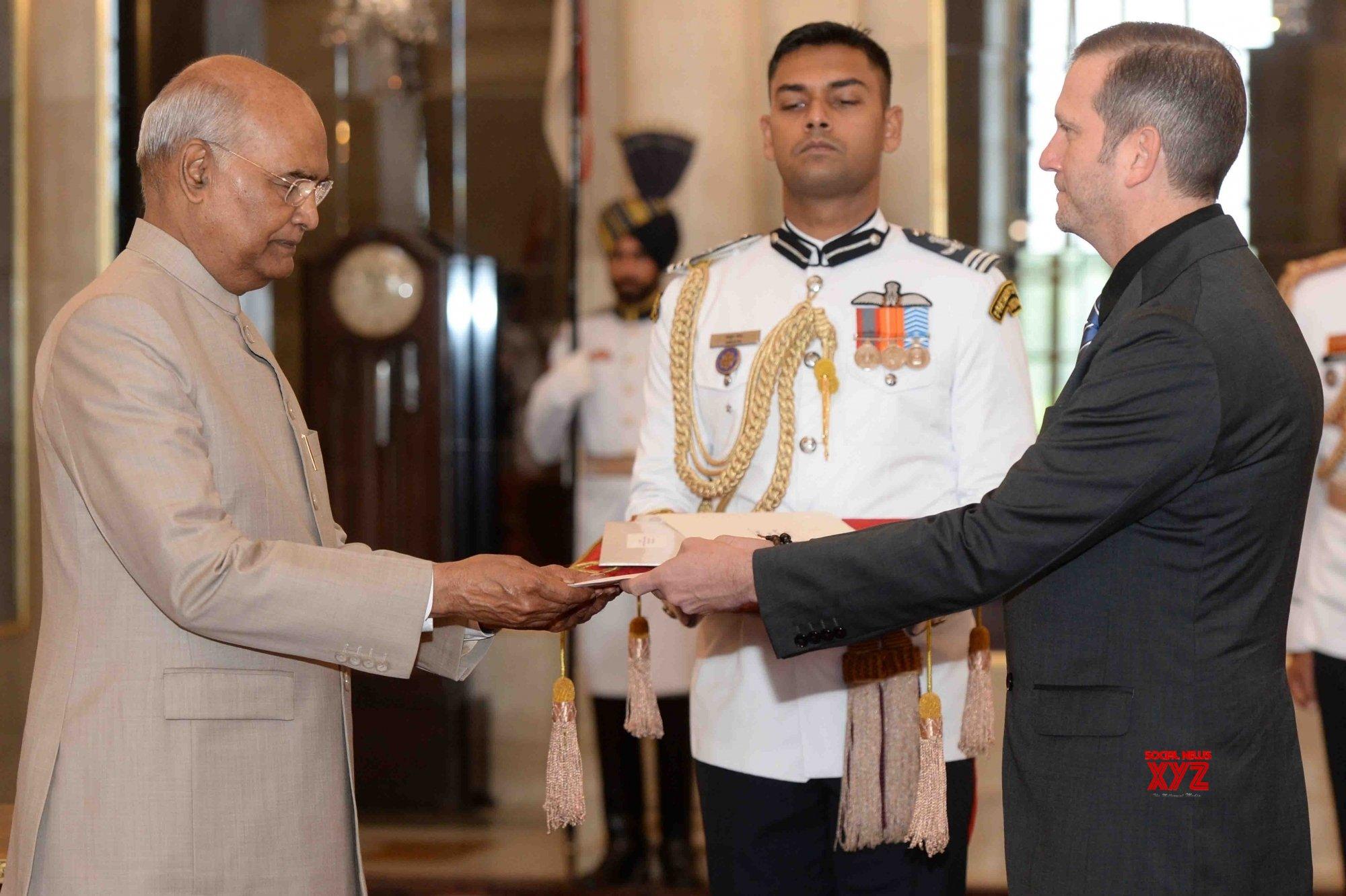 New Delhi: Nicaragua Ambassador - designate presents credentials to President Kovind #Gallery