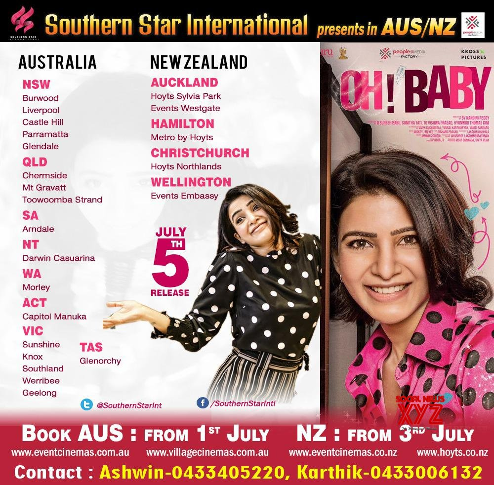 Oh Baby Movie Australia And New Zealand Theater Schedules