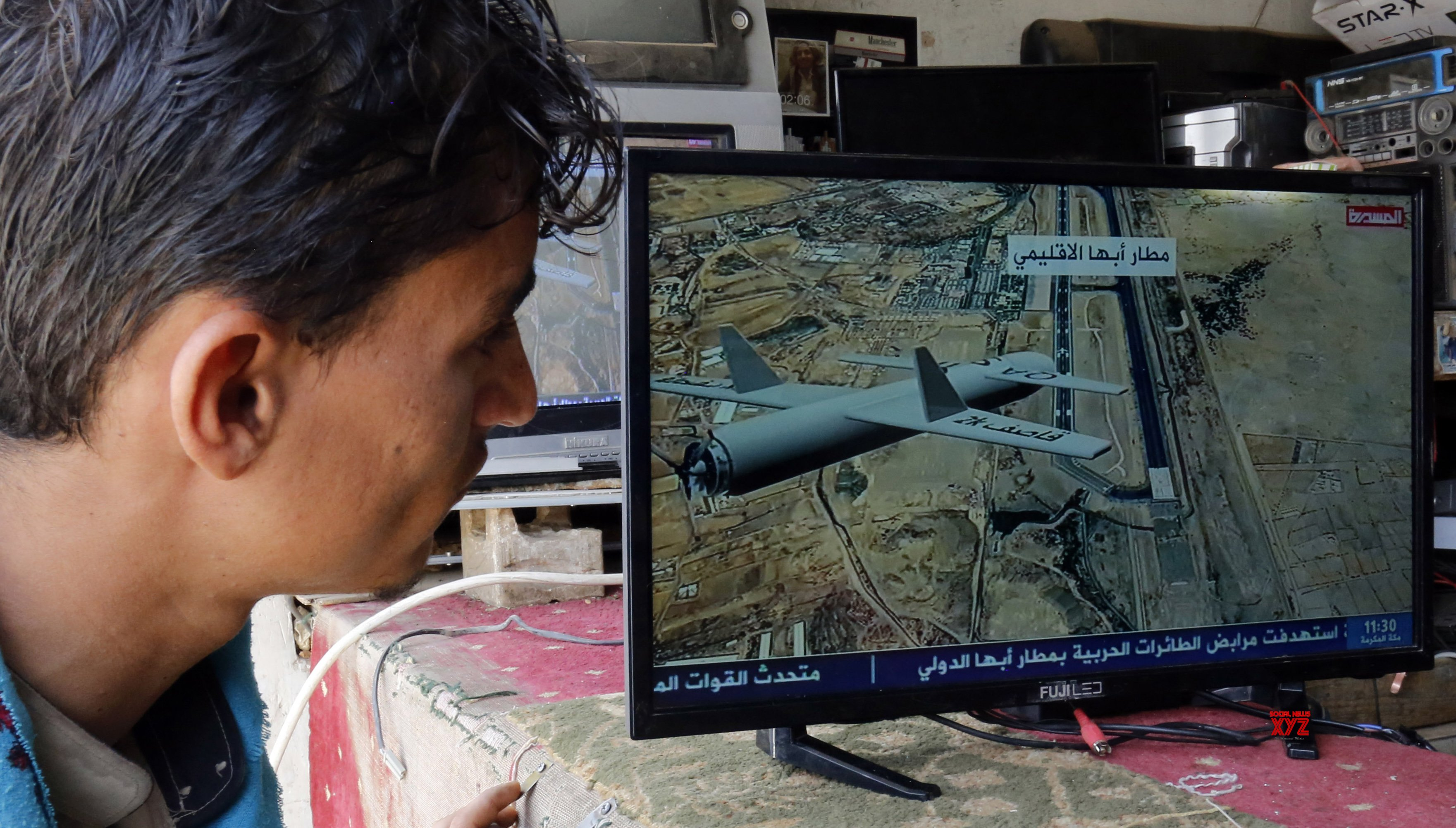 YEMEN - SANAA - HOUTHI REBELS - AIRPORT - ATTACK #Gallery - Social