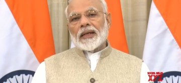 New Delhi: Prime Minister Narendra Modi gives his remarks on the Union Budget 2019, in New Delhi on July 5, 2019. (Photo: IANS/BJP)