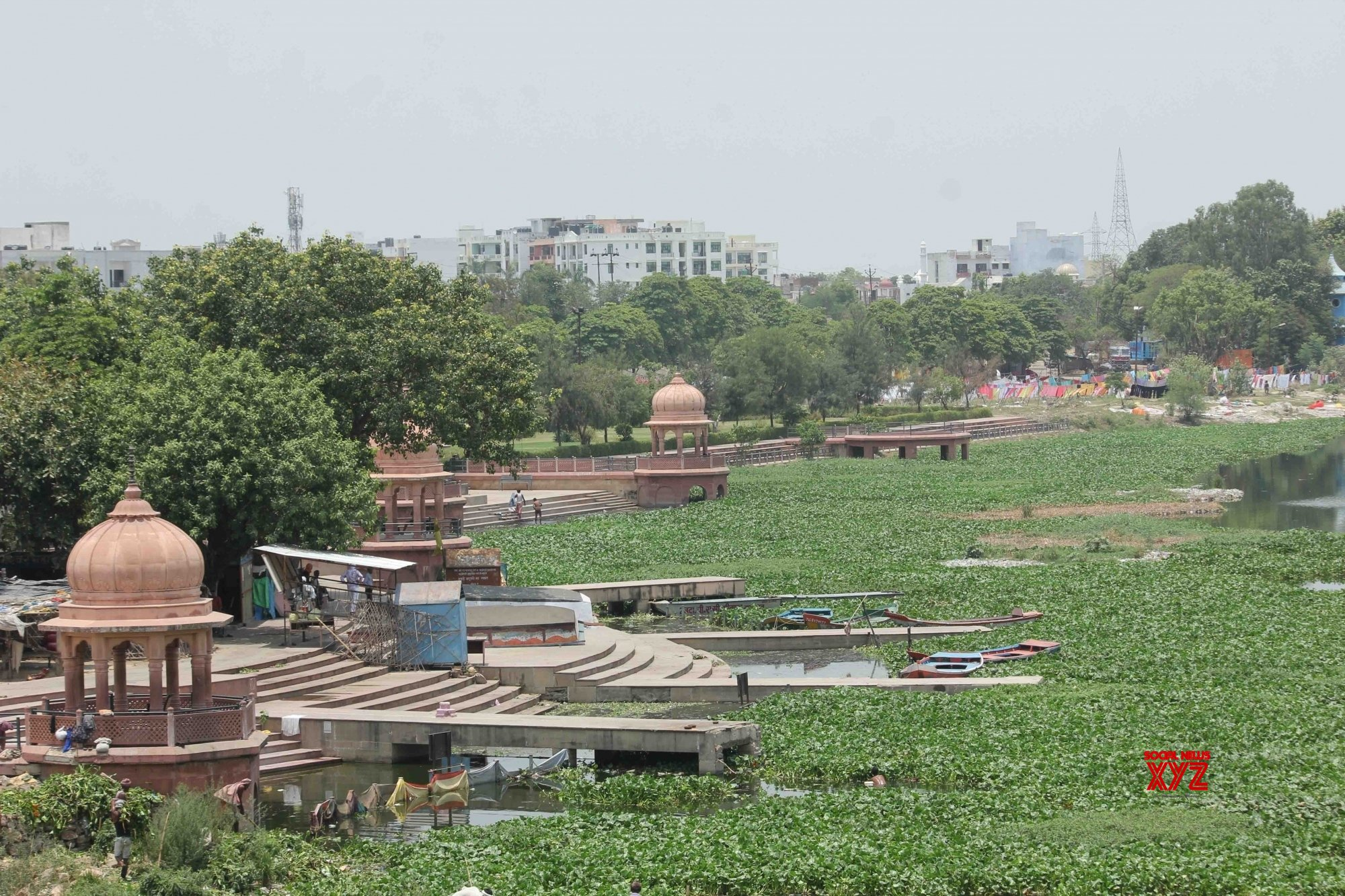 Lucknow loses almost half its water bodies to builders