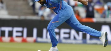 Manchester: India's Rohit Sharma drops a catch of New Zealand's James Neesham during the 1st Semi-final match of 2019 World Cup between India and New Zealand at Old Trafford in Manchester, England on July 9, 2019. (Photo: Surjeet Kumar/IANS)