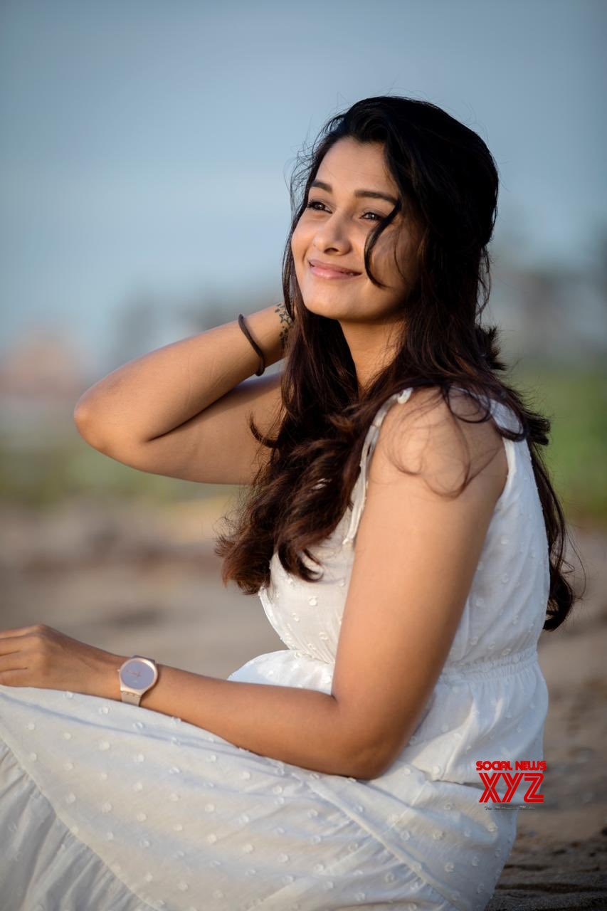 Actress Priya Bhavani Shankar Cute All White Stills