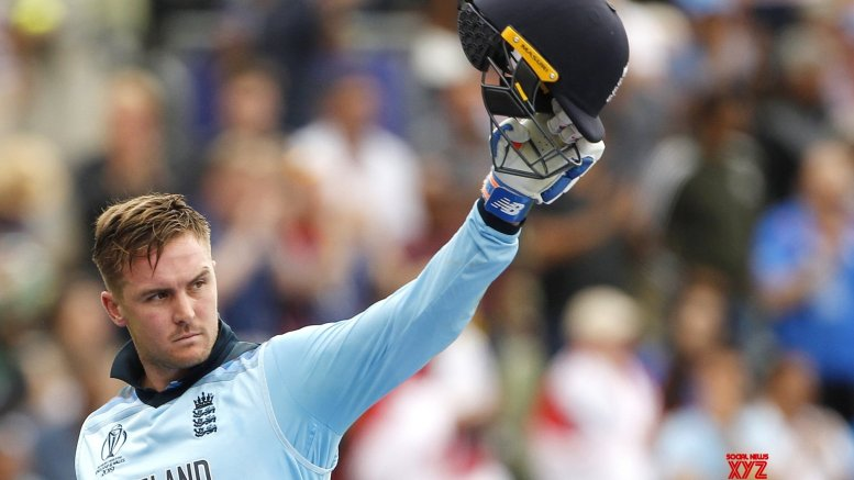 Jason Roy fined for showing dissent at umpire's decision