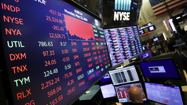 US stock market surges to record highs