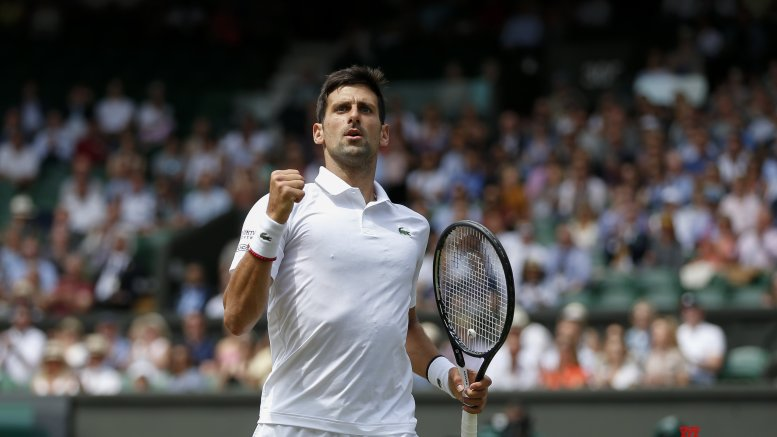 Djokovic beats Agut to enter Wimbledon final