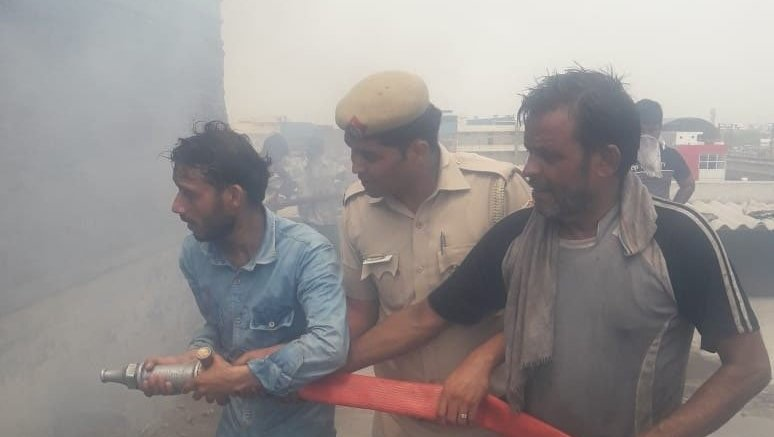 Three families lose breadwinners in Delhi factory fire