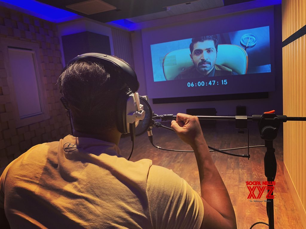 Arun Vijay Completed Dubbing For Saaho