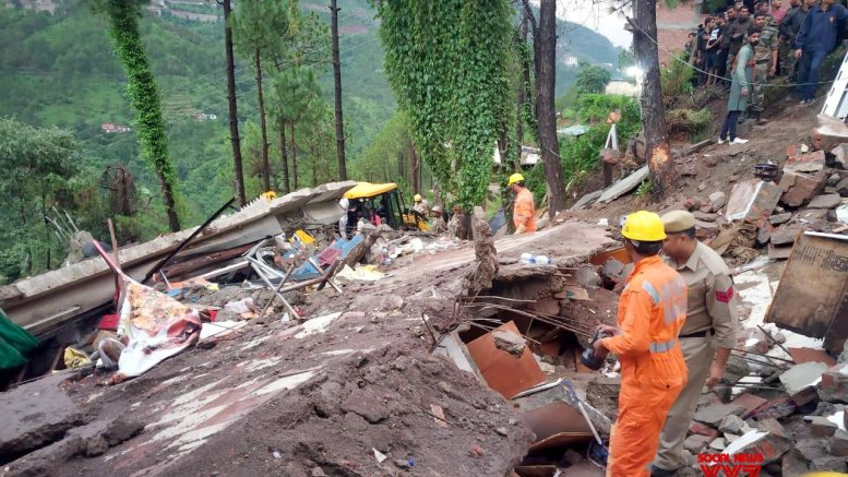 2 dead, 12 soldiers trapped in Himachal house collapse