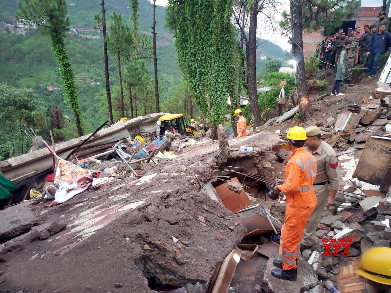 Kumarhatti (Himachal Pradesh): 10 rescued, 20 trapped in Himachal building collapse #Gallery