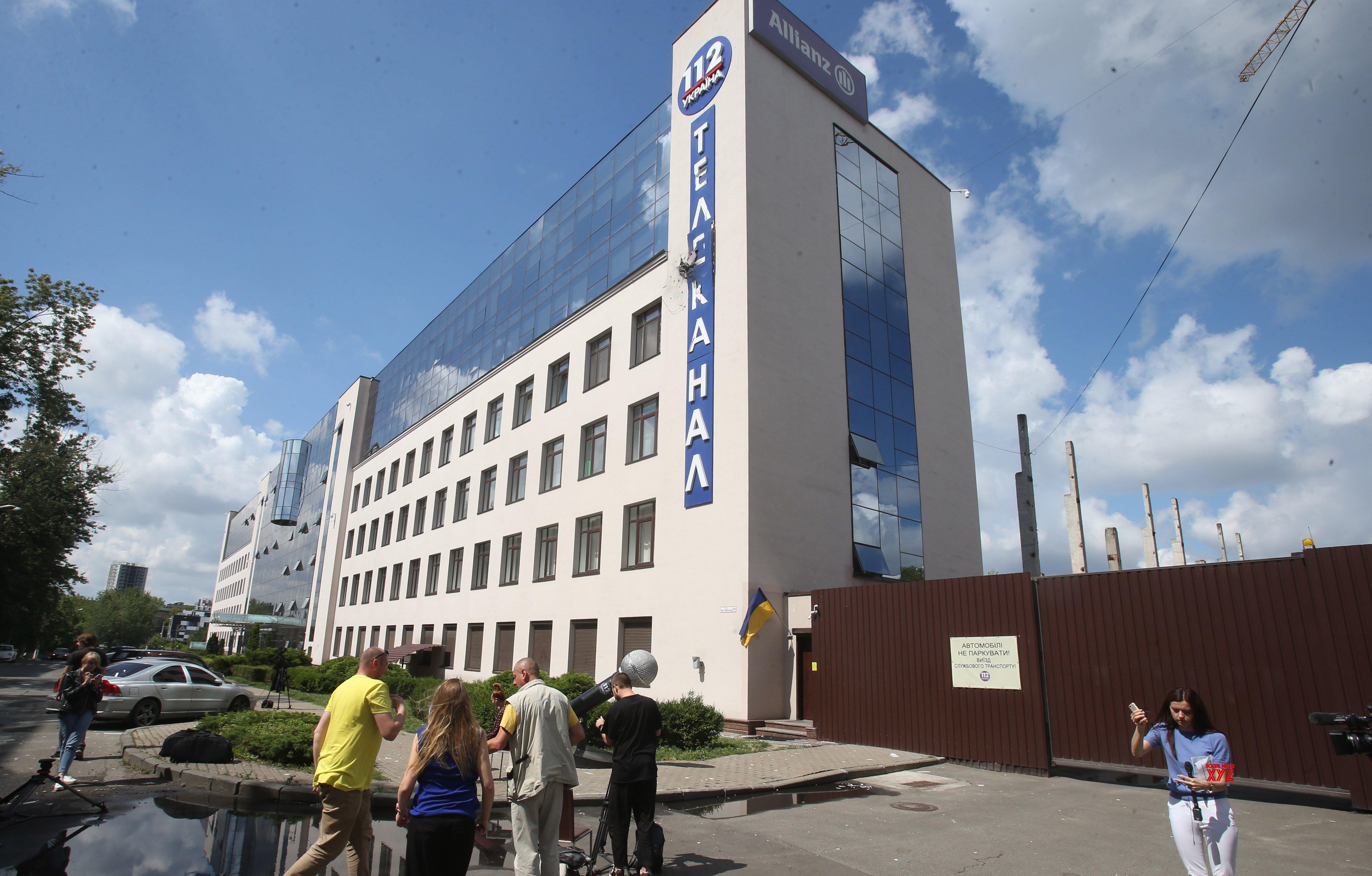 UKRAINE - KIEV - TV BUILDING - ATTACK #Gallery