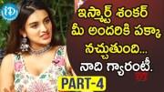 iSmart Shankar Actress Nidhhi Agerwal Exclusive Interview - Part #4 (Video)