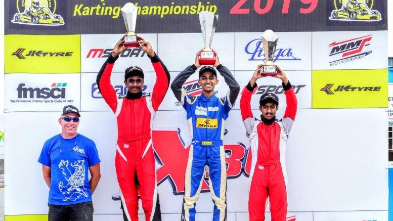 National Karting C'ship: Nirmal, Ruhaan maintain top spots