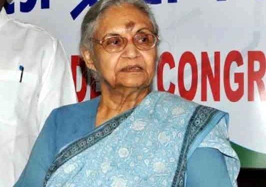 Sheila Dikshit's political rise and fall in Delhi
