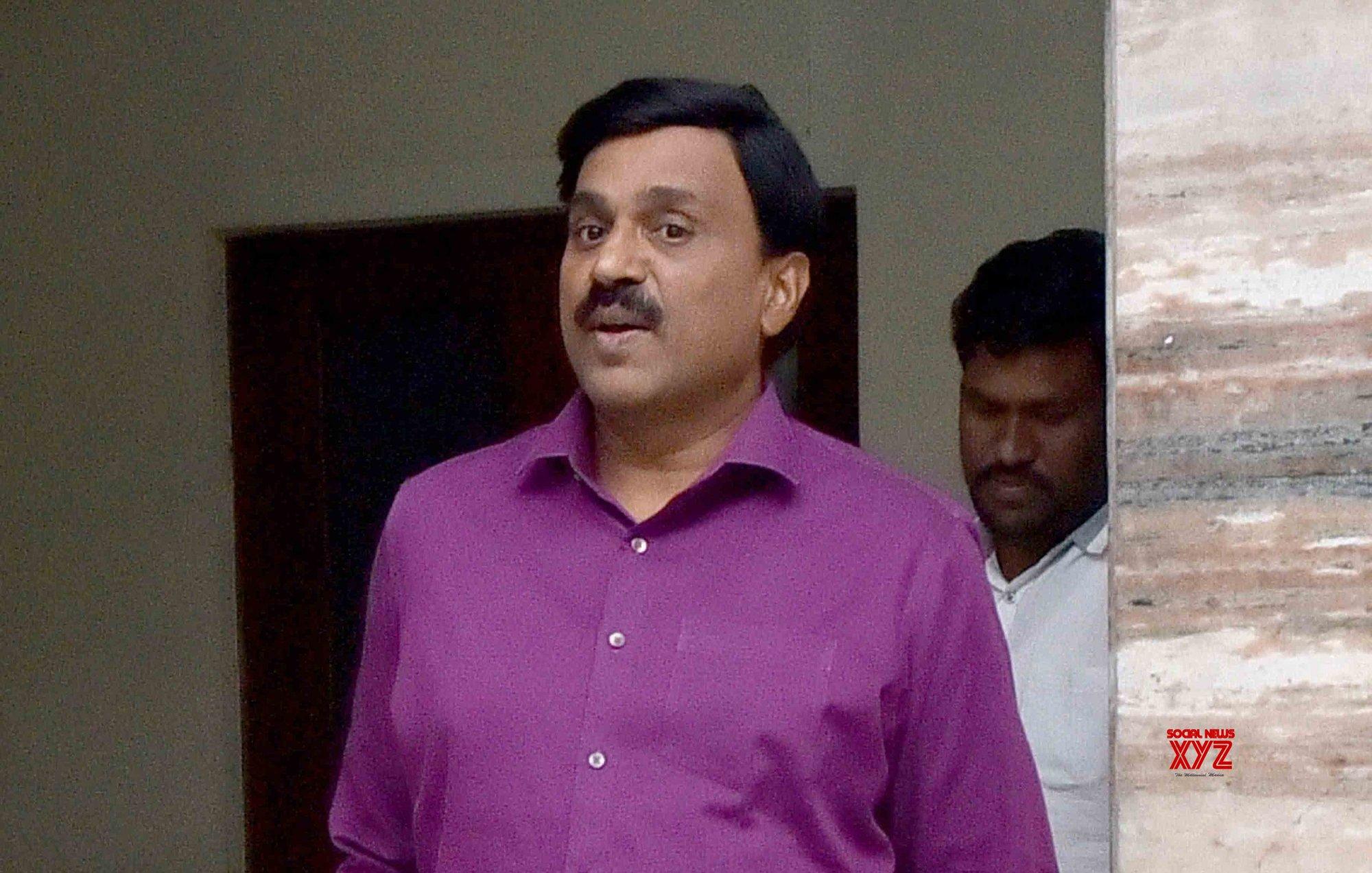 Hyderabad: Gali Janardhan Reddy talks to the media after