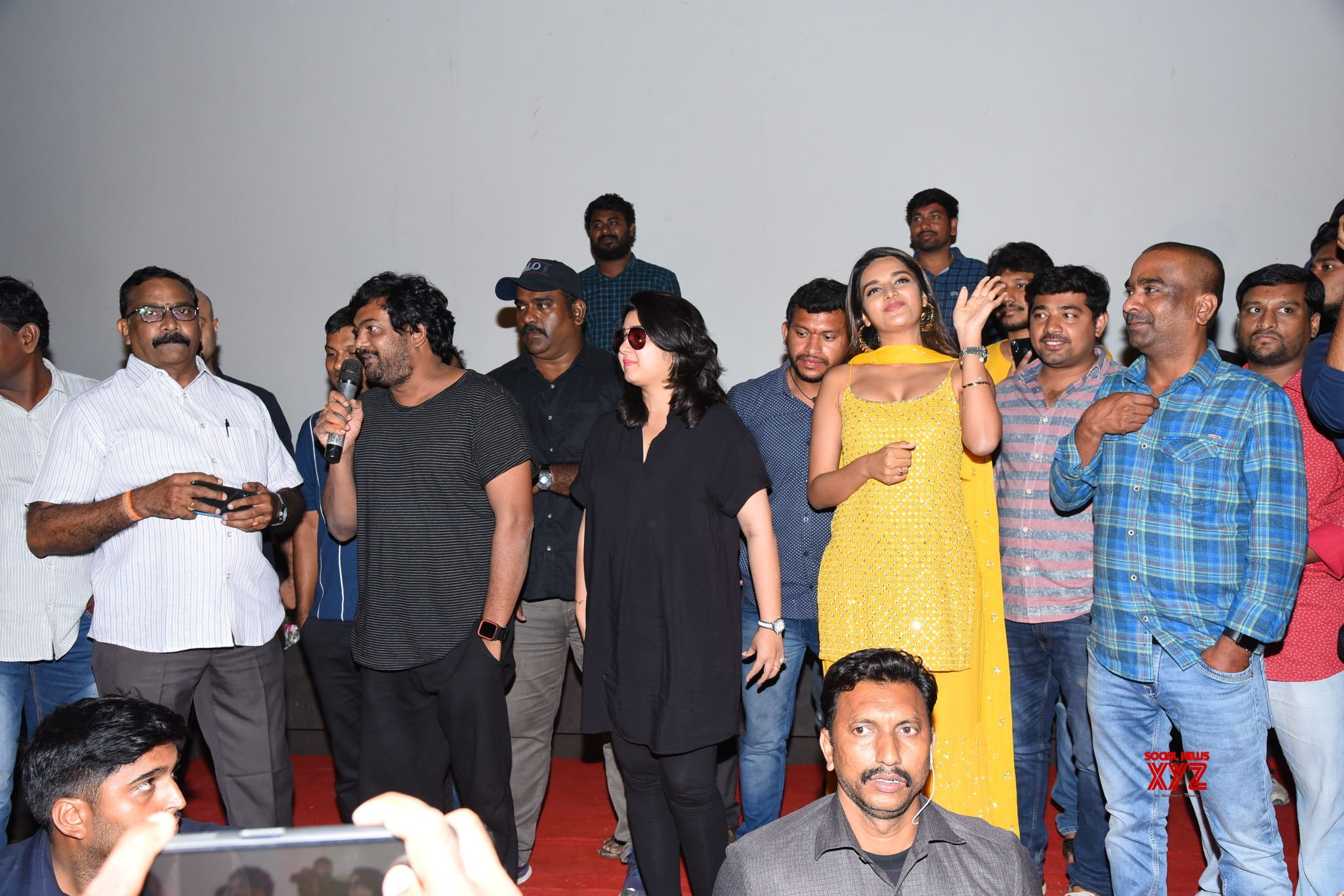 Ismart Shankar Success Tour At Eluru, Rajahmundry And Palakollu Gallery Set 3