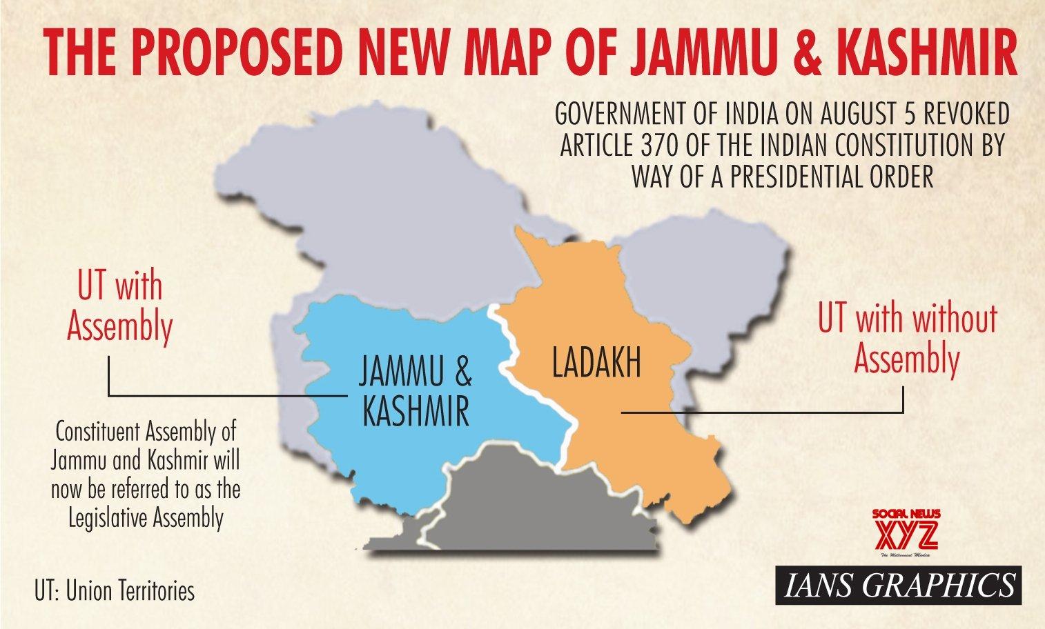 தமிழ் செல்வா  Jammu And Kashmir World Map