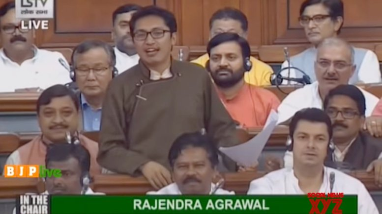 Ladakh MP hoists Tricolour, calls it 'first Independence Day'