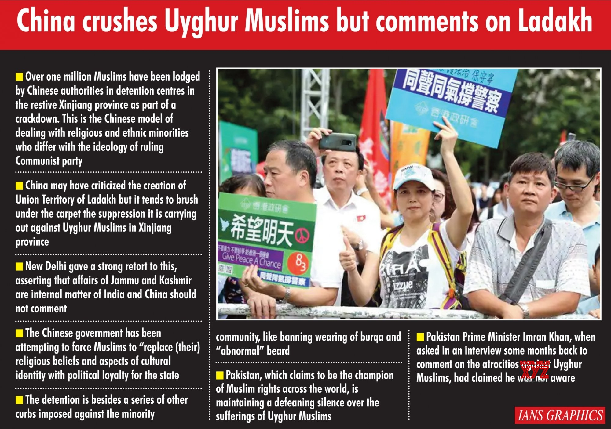 Image result for China crushes Uyghur Muslims