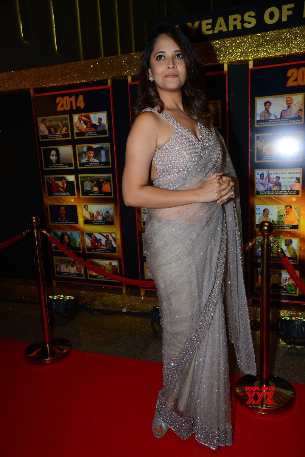 Actress Anasuya Bharadwaj Stills From Sakshi Excellence
