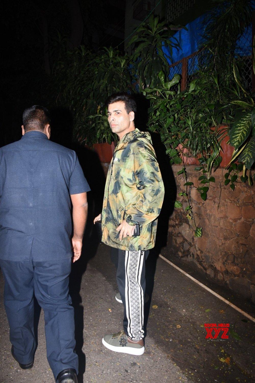 Mumbai: Karan Johar seen at Bandra #Gallery