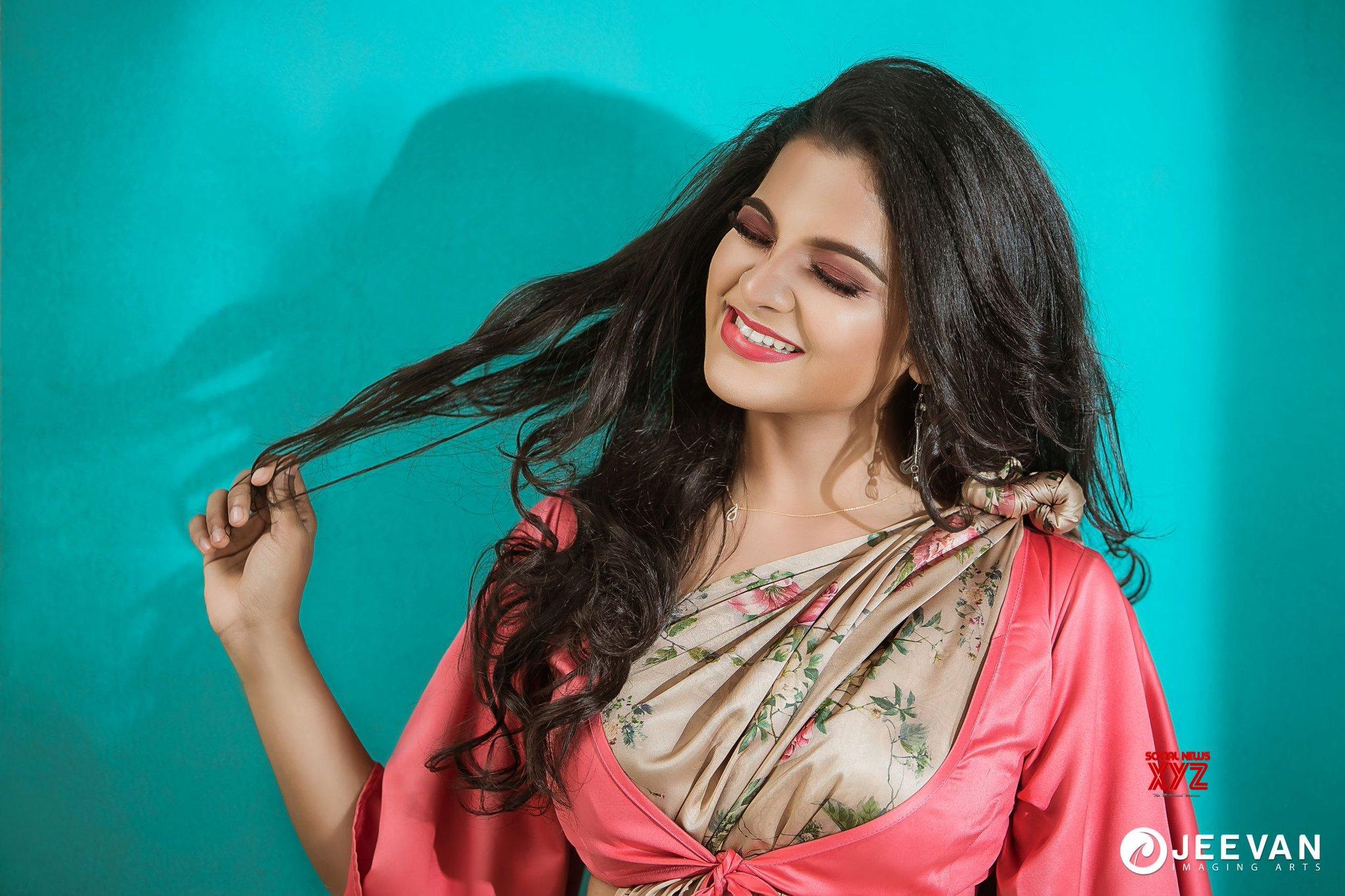 Actress Chithu Latest Cute And Charming Photoshoot Stills