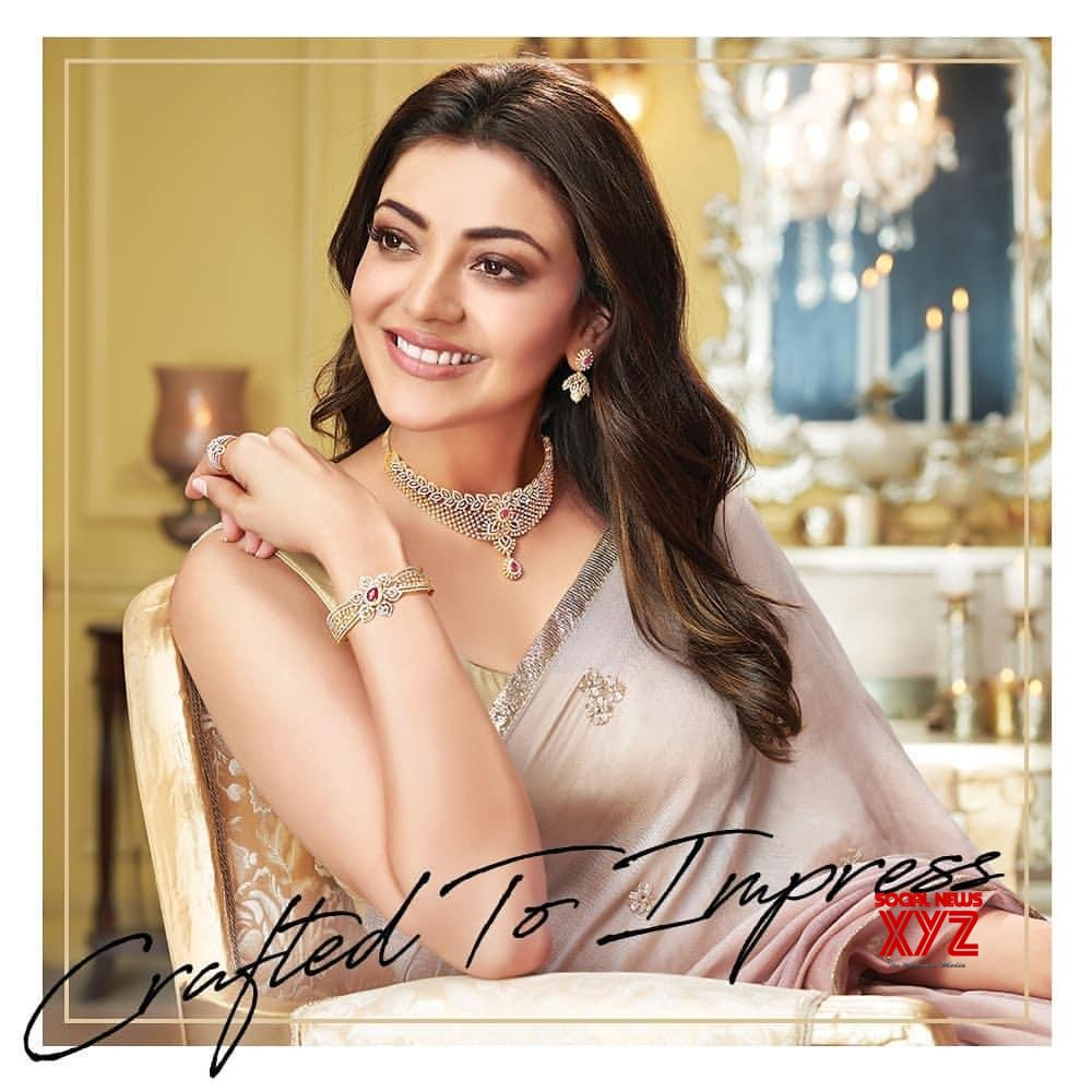 Actress Kajal Aggarwal Stills From Khazhana Jewellery Ad