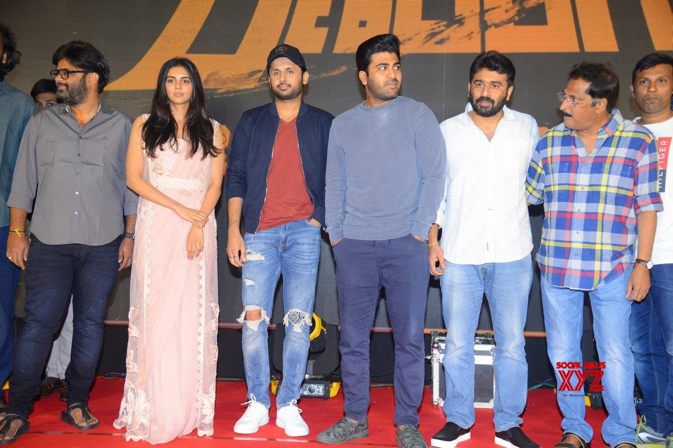 Ranarangam Movie Pre Release Event Gallery Set 2