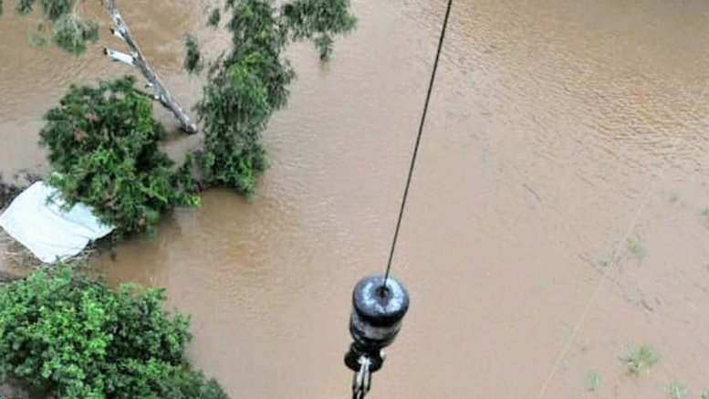Rescue, relief on, as rain water recedes in Karnataka