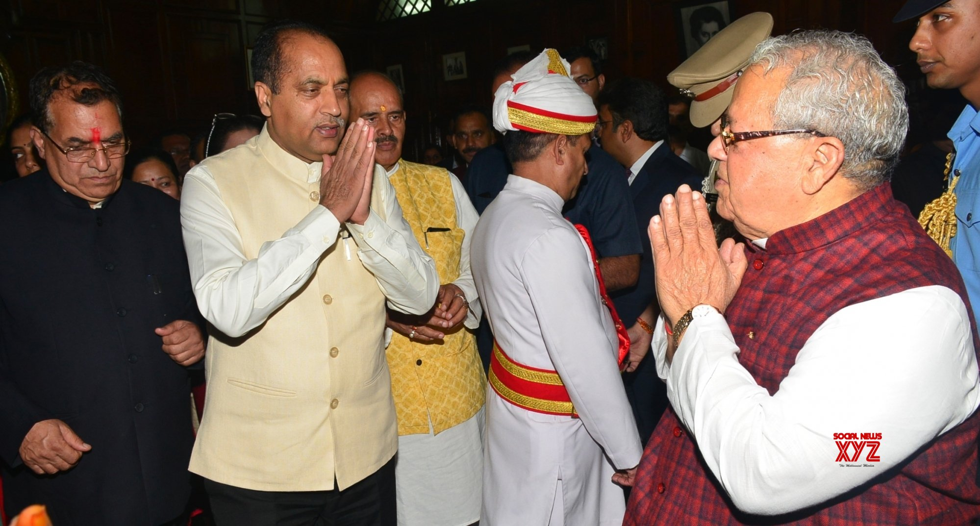 Shimla: Himachal Governor hosts 'At Home' on 73rd Independence Day #Gallery