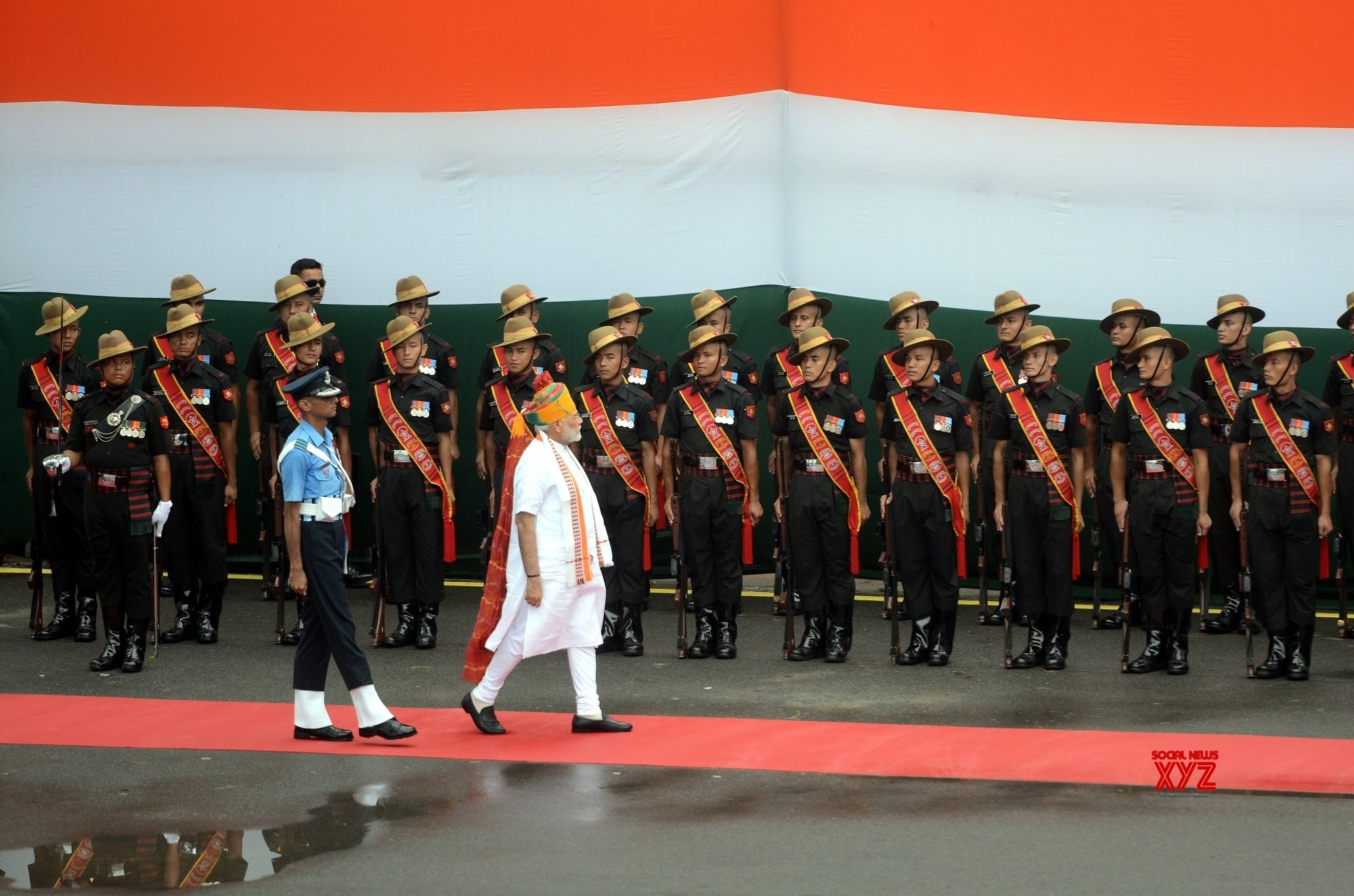 New Delhi: 73rd Independence Day - Prime Minister's address - (Batch - 2) #Gallery