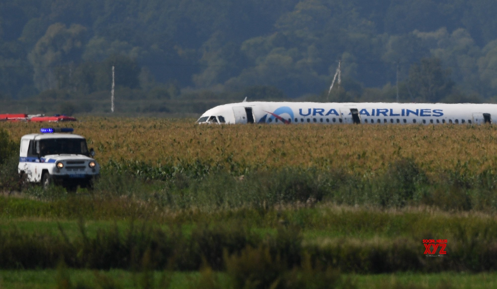 RUSSIA - MOSCOW - AIRPLANE - HARD LANDING #Gallery