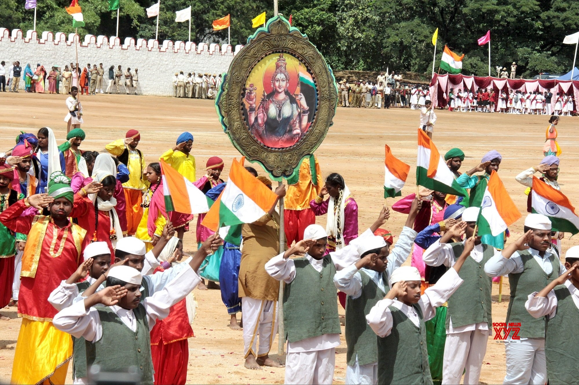 Bengaluru: 73rd Independence Day celebrations #Gallery
