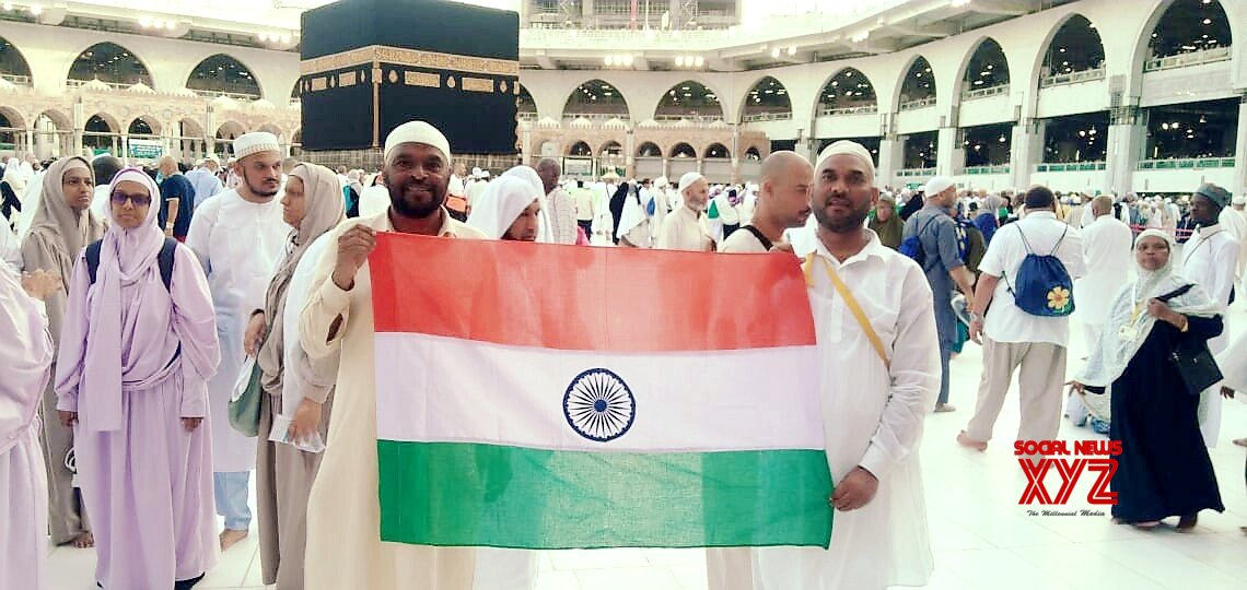 Mecca: Indian Hajj pilgrims celebrate 73rd Independence Day in Saudi Arabia #Gallery