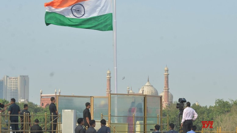 Incident free I-Day celebration at Red Fort