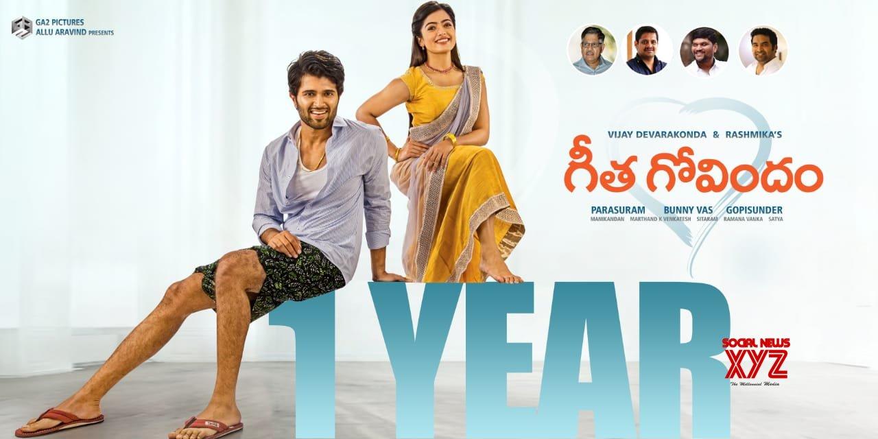 Blockbuster Geetha Govindam Completes One Year