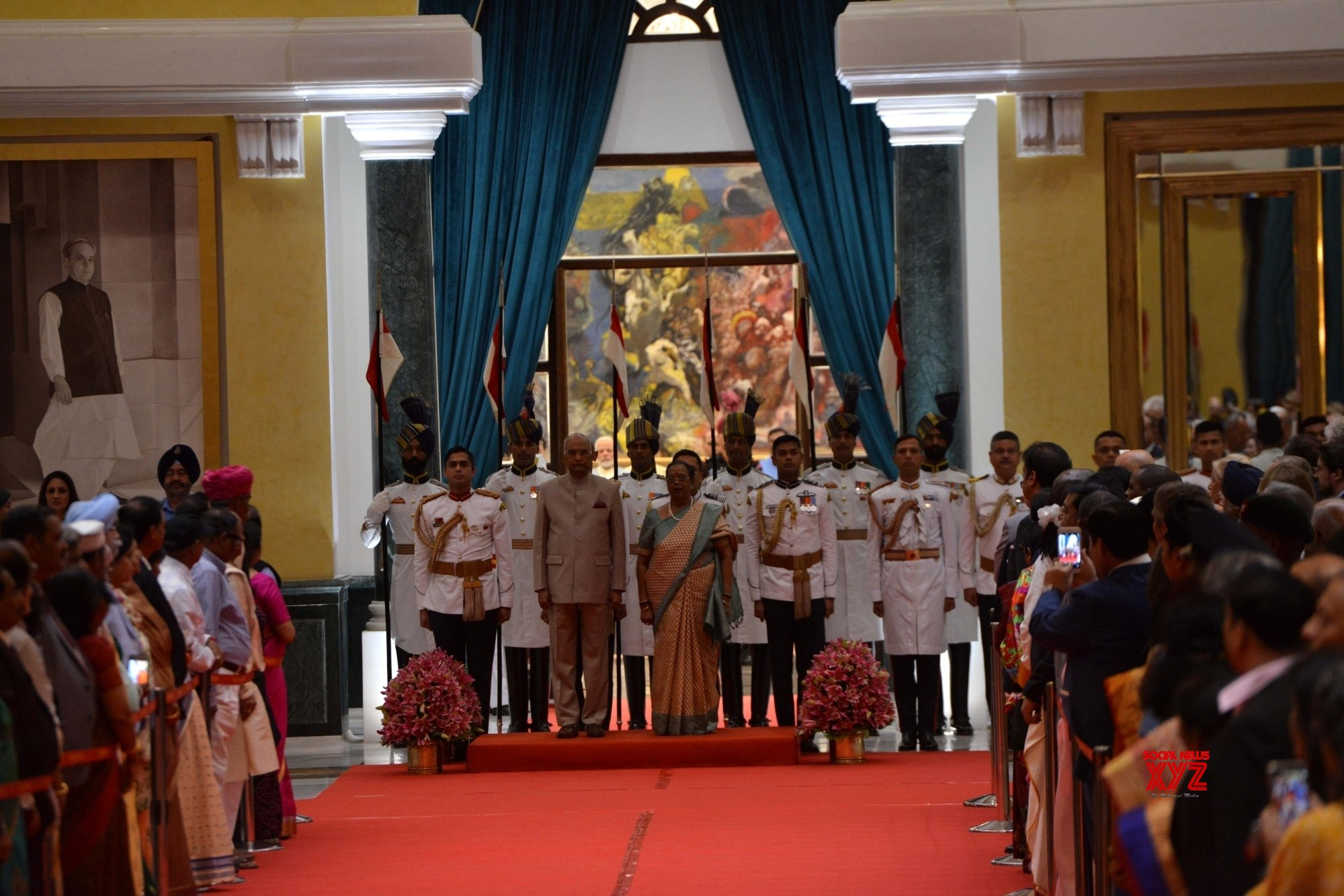 New Delhi: President Kovind hosts 'At Home' on 73rd Independence Day #Gallery