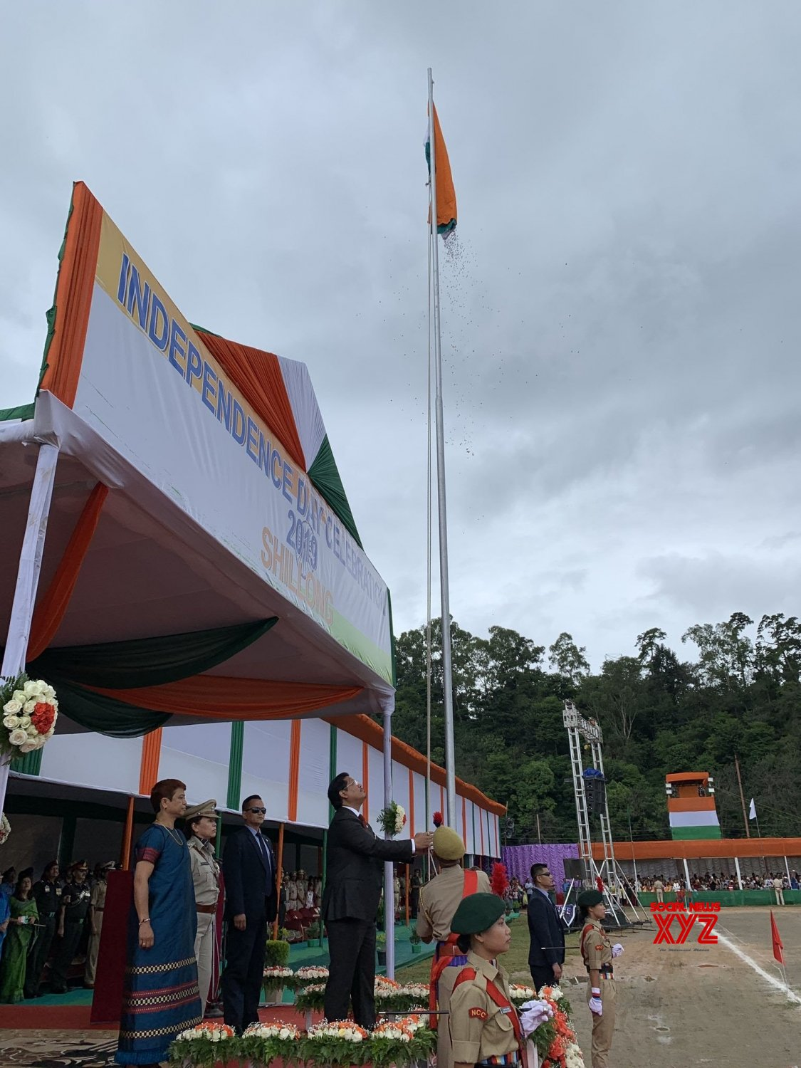 Shillong: 73rd Independence Day celebrations in Meghalaya #Gallery