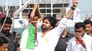 Janasena Party Independence Day Celebrations In Mangalagiri  [HD] (Video)