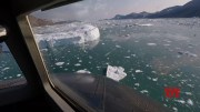 Scientists fly over Greenland to track melting ice [HD] (Video)