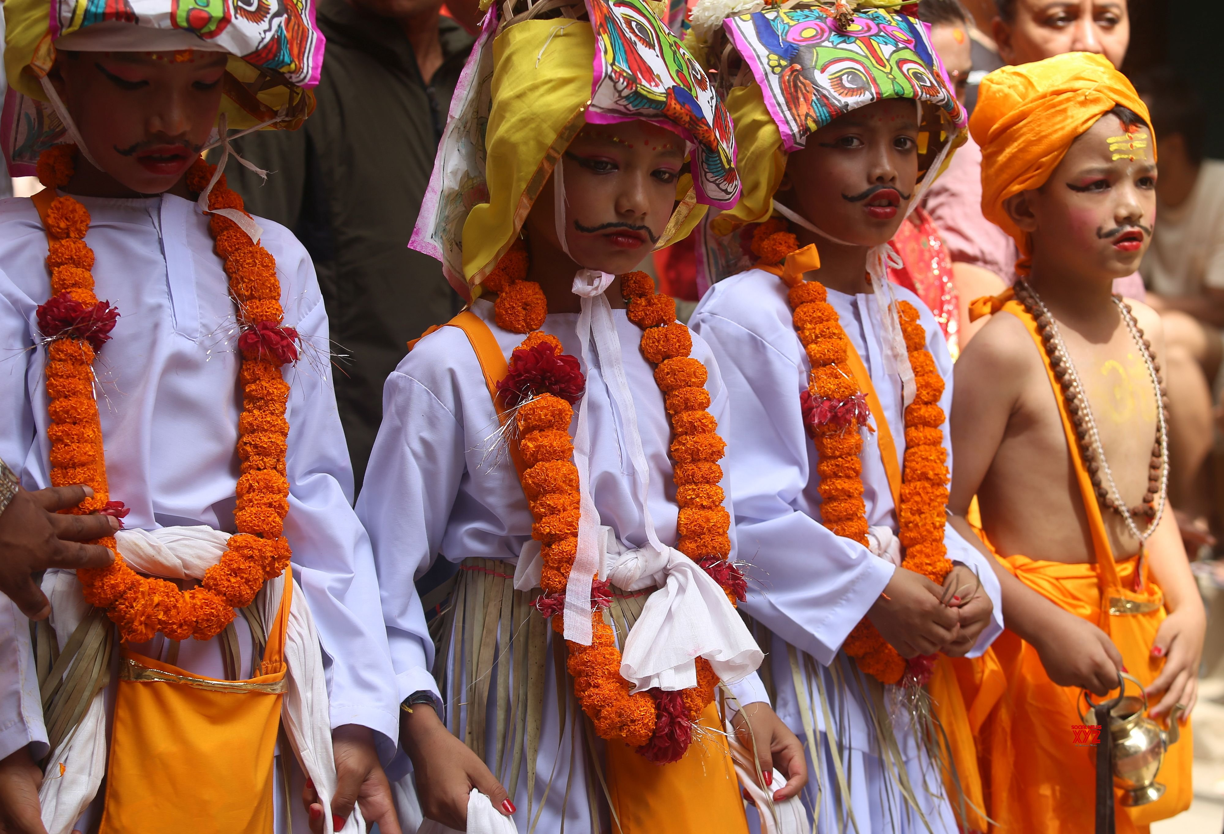 NEPAL - KATHMANDU - GAIJATRA FESTIVAL #Gallery