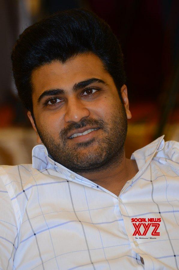 Ranarangam Movie Gun Shot Blockbuster Success Meet Gallery
