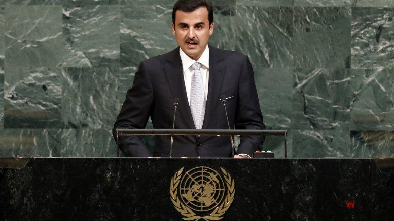 Qatari emir, Russian president discuss bilateral ties