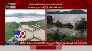 Heavy floods in Bhadrachalam, Godavari water level 43 feet - TV9 [HD] (Video)